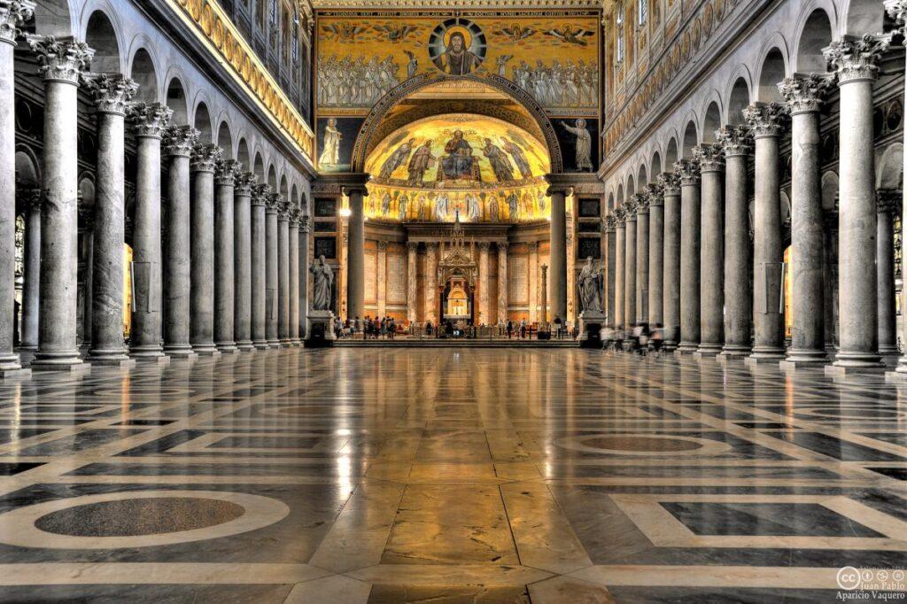 Bazylika św. Pawła za murammi w Rzymie, Włochy (fot. Juan Pablo Aparicio Vaquero)