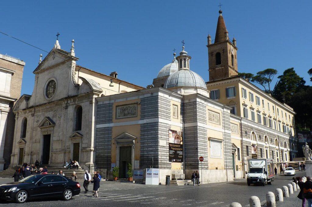 Bazylika Santa Maria del Popolo w Rzymie, Włochy (fot. Damian Entwistle)