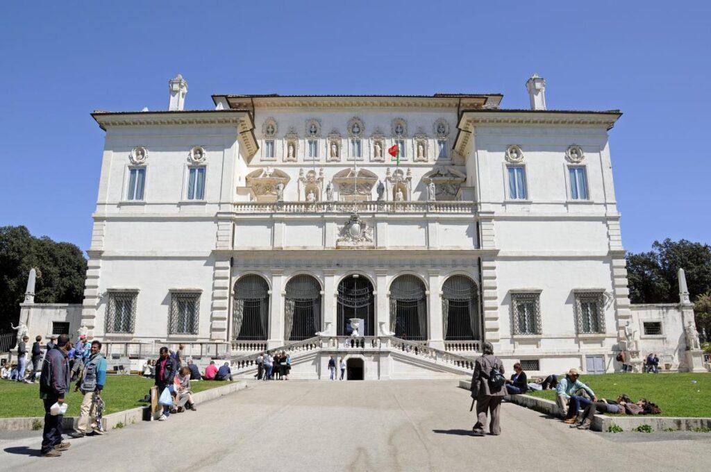 Villa Borghese w Rzymie, Włochy (fot. Son of Groucho)