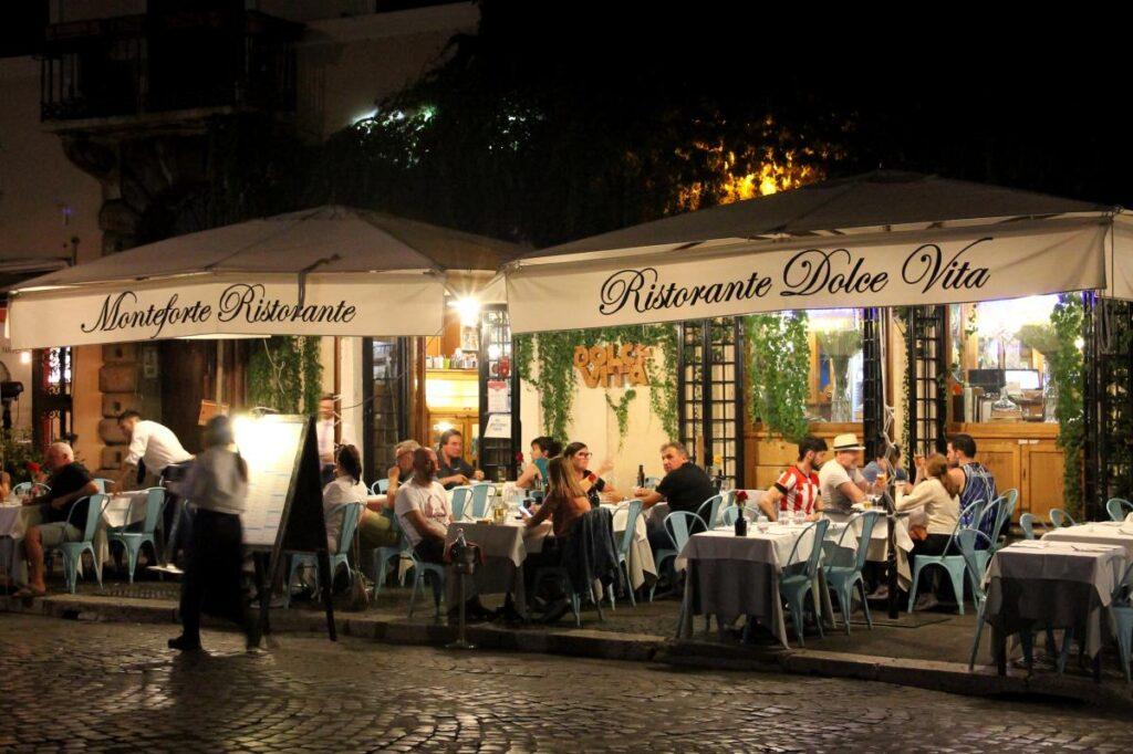 dzielnica Zatybrze, Trastevere, Rzym, Włochy (fot. Antonio Castagna)
