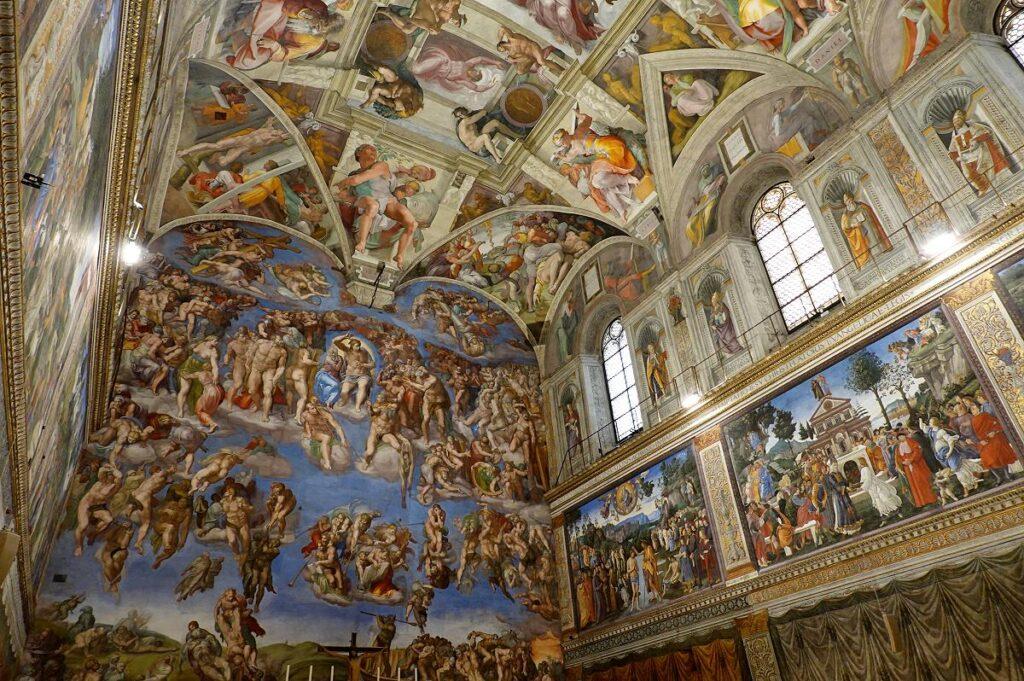 Kaplica Sykstyńska, Muzea Watykańskie, Watykan (fot. Richard Mortel)