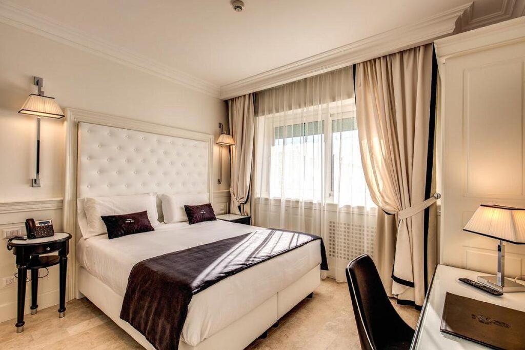 polecane i tanie noclegi w Rzymie, Hotel Domus Mea tuż obok dworca Roma Termini