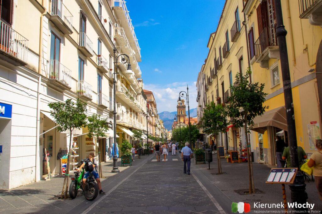 Corso Italia, Sorrento, Włochy (fot. Ł. Ropczyński, kierunekwlochy.pl)