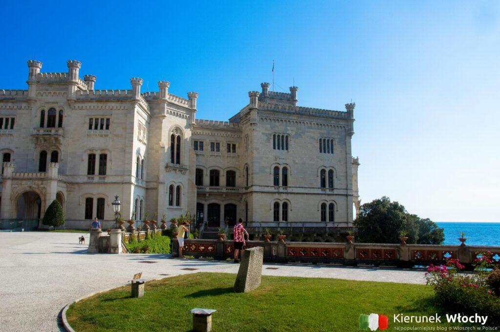 Zamek Miramare, Triest, Włochy (fot. Ł. Ropczyński, kierunekwlochy.pl)