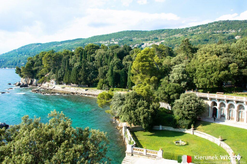 Park przy Zamku Miramare w Trieście, Włochy (fot. Łukasz Ropczyński, kierunekwlochy.pl)