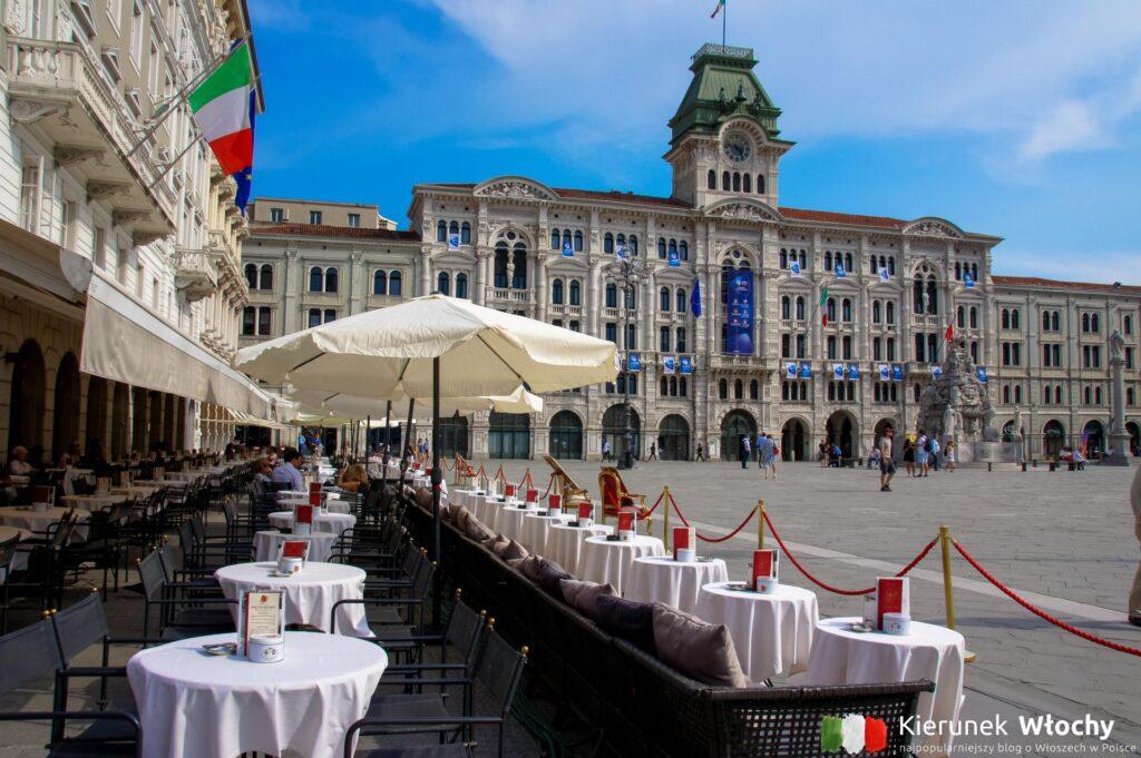 Piazza Unita d'Italia, Triest, Włochy (fot. Łukasz Ropczyński, kierunekwlochy.pl)