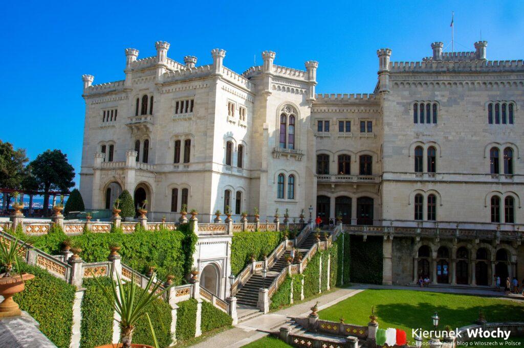 zamek Miramare w Trieście, Włochy (fot. Łukasz Ropczyński, kierunekwlochy.pl)