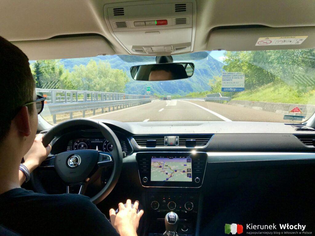 do Włoch najczęściej jeździmy przez Czechy i Austrię, a później autostradą A23 w stronę Wenecji (fot. J. Ropczyńska, kierunekwlochy.pl)