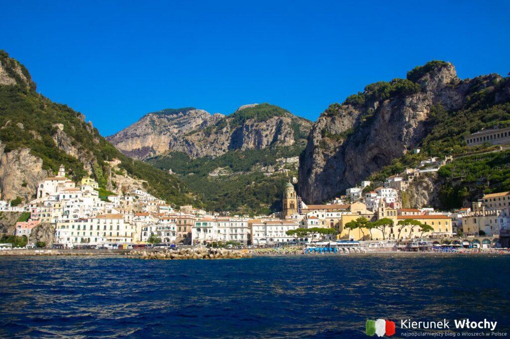 Wybrzeże Amalfi, miasto Amalfi, Kampania, Włochy (fot. Łukasz Ropczyński, kierunekwlochy.pl)
