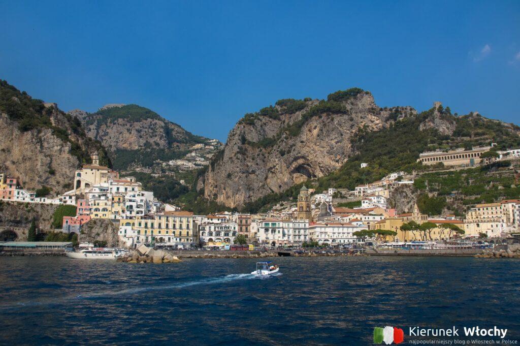 Amalfi, wybrzeże Amalfi, Włochy (fot. Ł. Ropczyński, kierunekwlochy.pl)