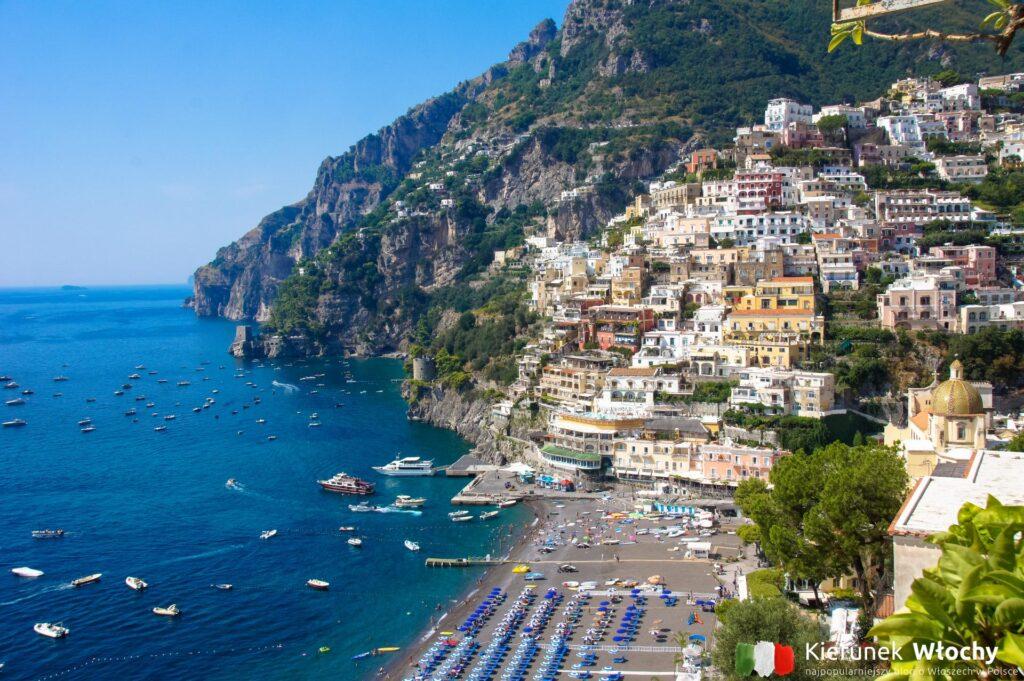 Positano, wybrzeże Amalfi, Włochy (fot. Ł. Ropczyński, kierunekwlochy.pl)