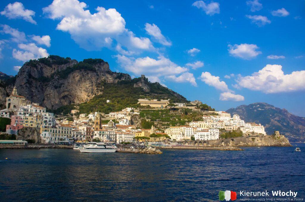 Amalfi, Wybrzeże Amalfi, Kampania, Włochy (fot. Łukasz Ropczyński, kierunekwlochy.pl)
