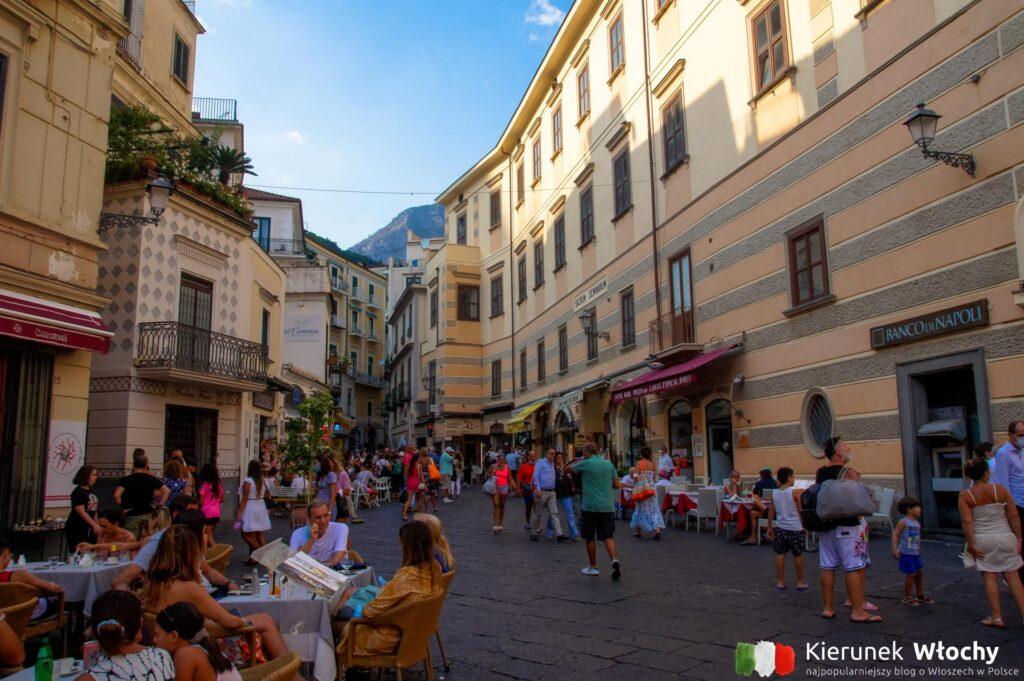 Amalfi, Wybrzeże Amalfitańskie, Włochy (fot. Ł. Ropczyński, kierunekwlochy.pl)