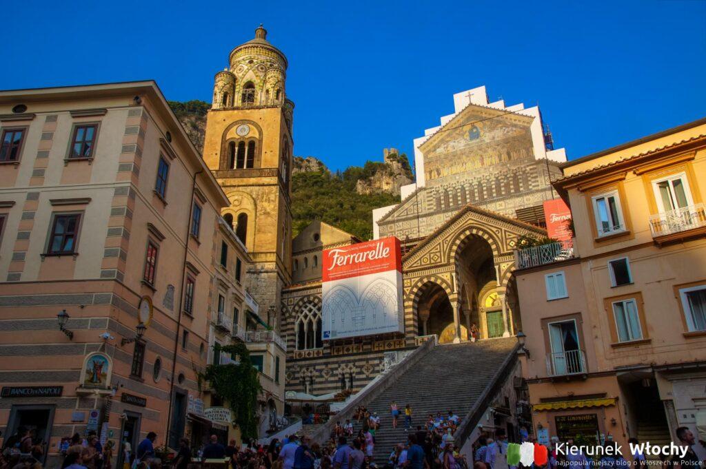 Amalfi, Wybrzeże Amalfi, Kampania, Włochy (fot. Ł. Ropczyński, kierunekwlochy.pl)