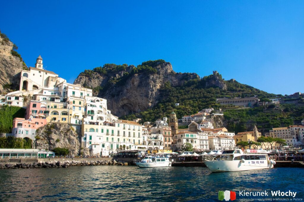 Amalfi, Wybrzeże Amalfitańskie, Kampania, Włochy (fot. Łukasz Ropczyński, kierunekwlochy.pl)