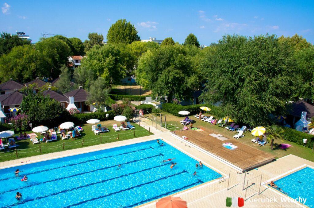 Aparthotel Albatros*** i Villaggio Los Nidos w Lignano, noclegi we Włoszech (fot. Łukasz Ropczyński, kierunekwlochy.pl)