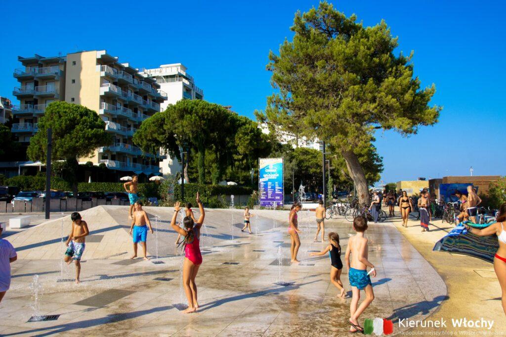 obiekt jest zaledwie 3 minuty spacerem od plaży, noclegi we Włoszech (fot. Łukasz Ropczyński, kierunekwlochy.pl)