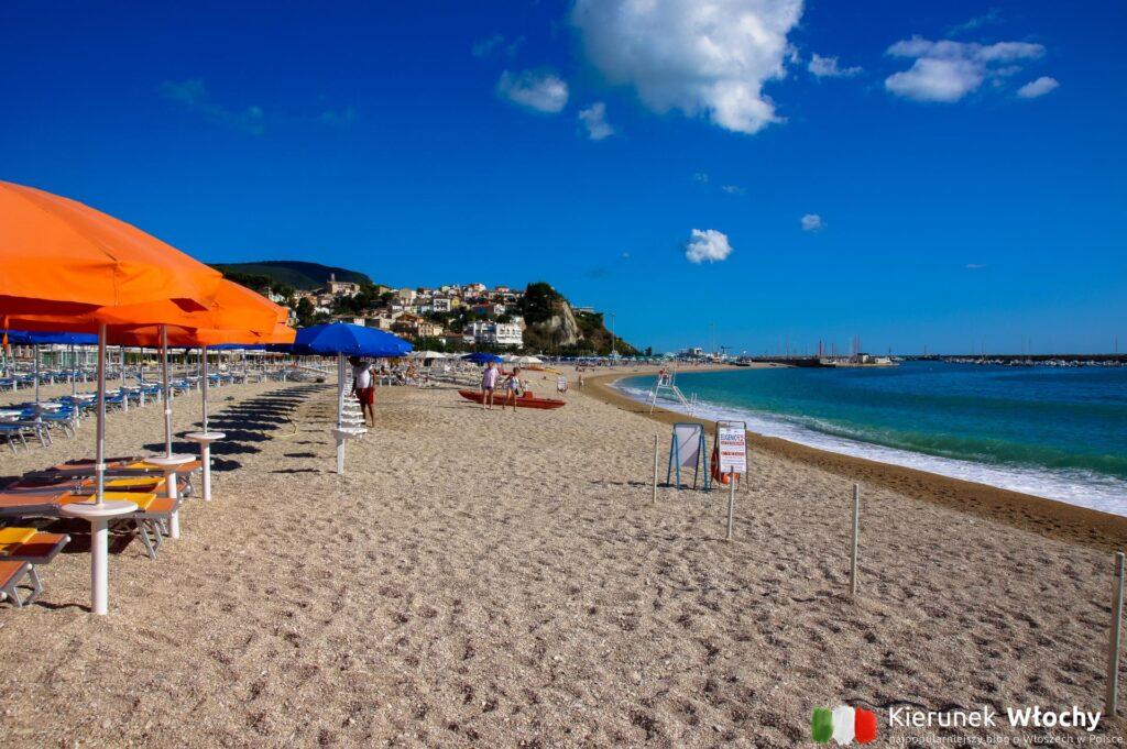 widok z kempingowej plaży w Green Garden, noclegi we Włoszech (fot. Łukasz Ropczyński, kierunekwlochy.pl)