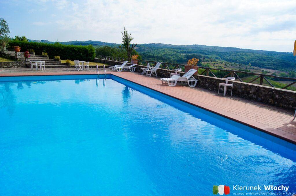 Hotel La Loggia Villa Gloria w regionie Chianti, noclegi we Włoszech (fot. Łukasz Ropczyński, kierunekwlochy.pl)