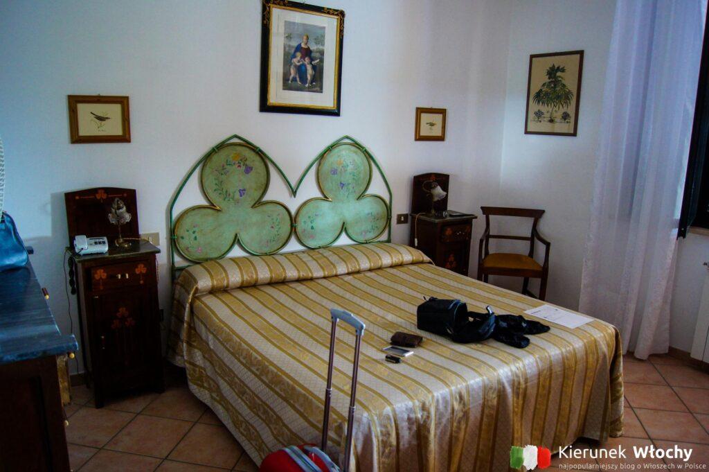 nasz pokój w La Loggia Villa Gloria w regionie Chianti, noclegi we Włoszech (fot. Łukasz Ropczyński, kierunekwlochy.pl)