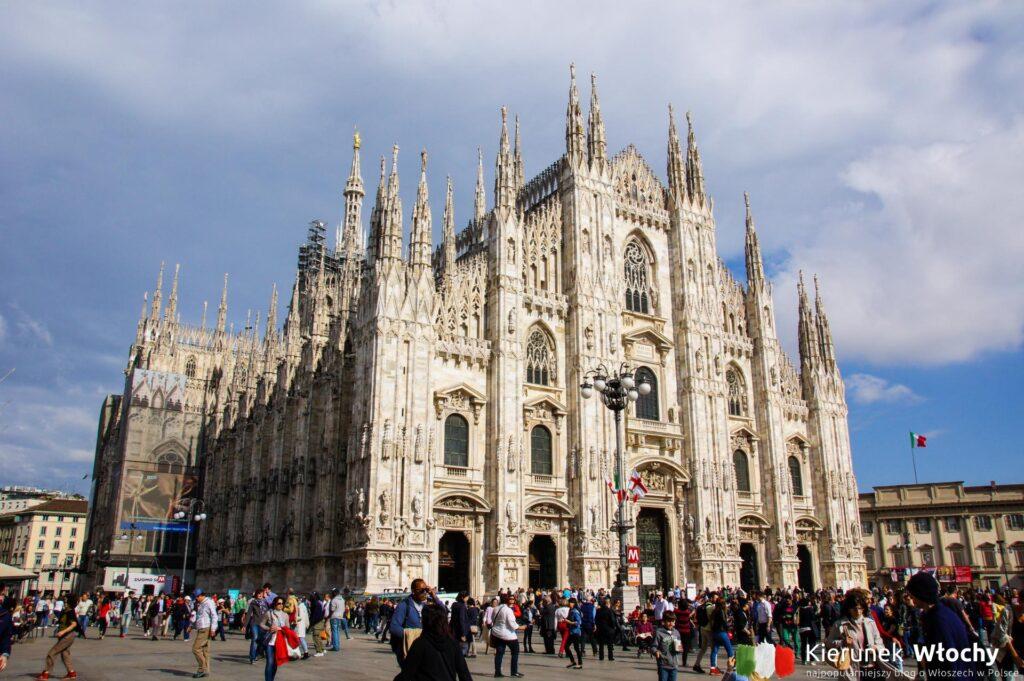 Katedra w Mediolanie, noclegi we Włoszech (fot. Łukasz Ropczyński, kierunekwlochy.pl)