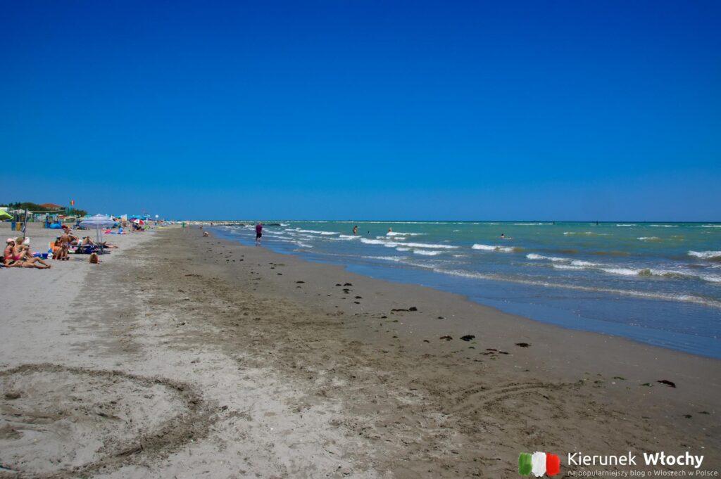 miejska plaża w Lido di Dante (fot. Łukasz Ropczyński, kierunekwlochy.pl)