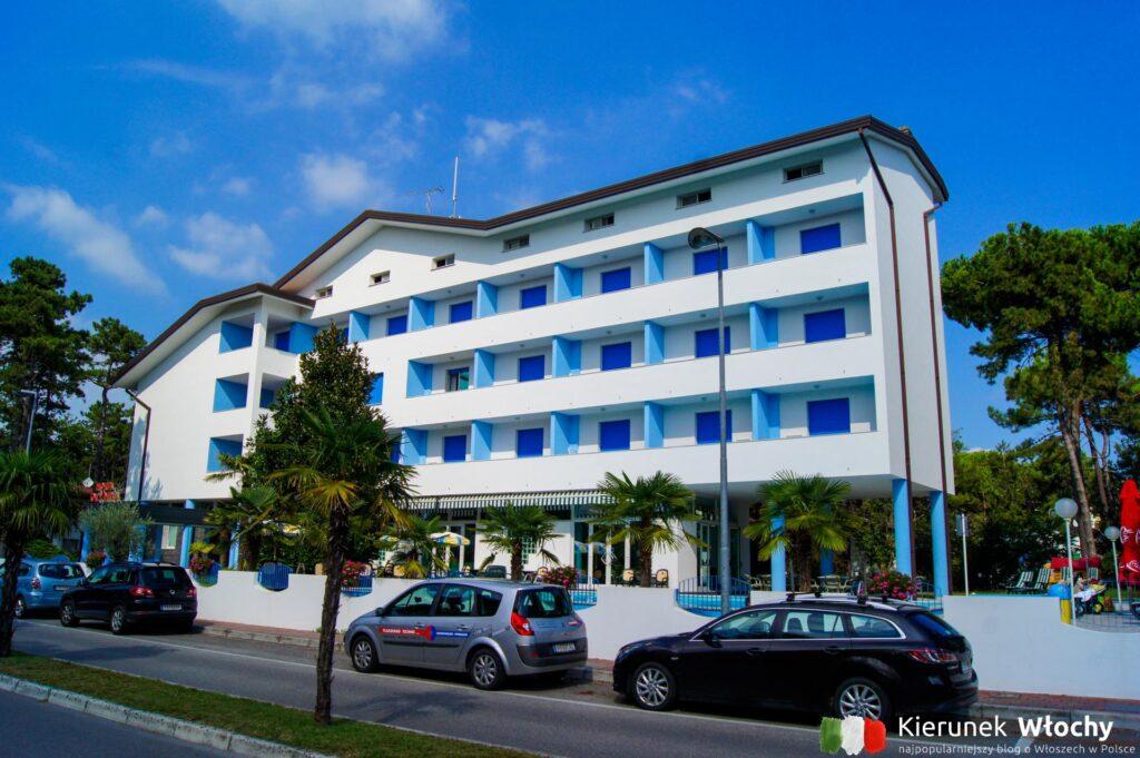 sprawdzone noclegi we Włoszech, Hotel Olympia w Lignano (fot. Łukasz Ropczyński, kierunekwlochy.pl)