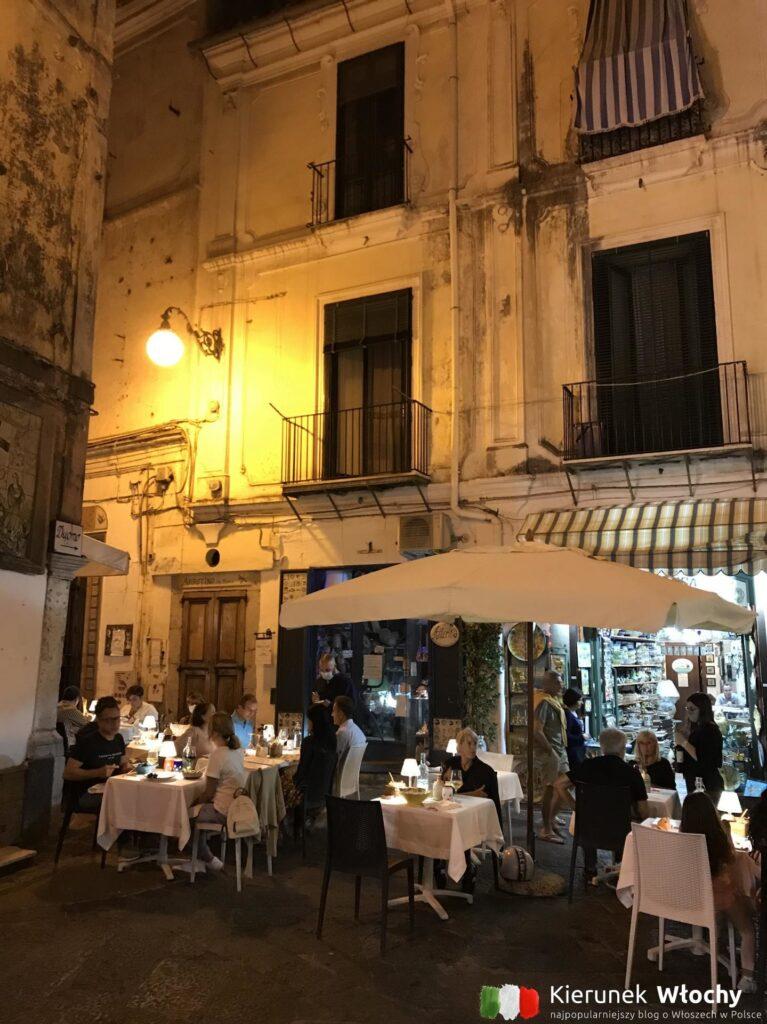 restauracja w Vietri sul Mare, Wybrzeże Amalfi, Włochy (fot. Ł. Ropczyński, kierunekwlochy.pl)