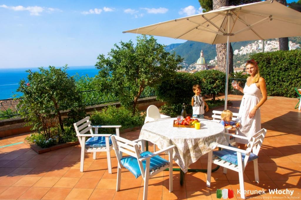 współpraca z marką Novasol - dom wakacyjny na Wybrzeżu Amalfi