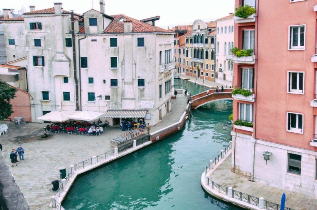 noclegi w Wenecji, widok z hotelu Ca' Dei Polo