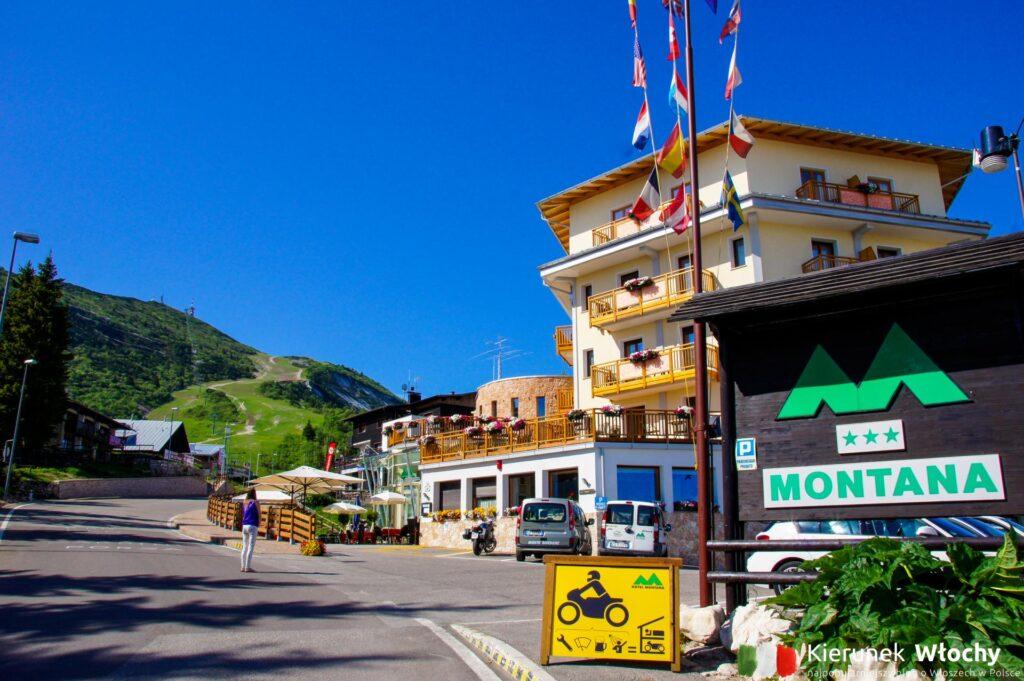 Hotel Montana w Vason, noclegi we Włoszech (fot. Łukasz Ropczyński, kierunekwlochy.pl)