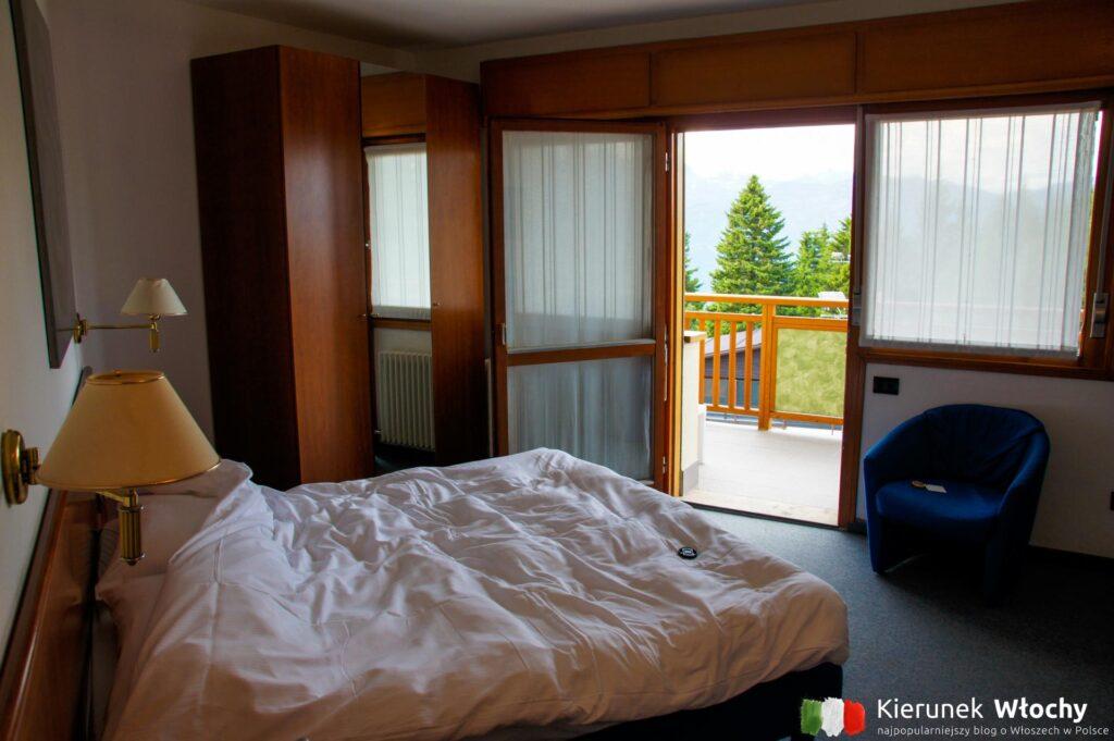nasz pokój w Hotelu Montana w Vason, noclegi we Włoszech (fot. Łukasz Ropczyński, kierunekwlochy.pl)