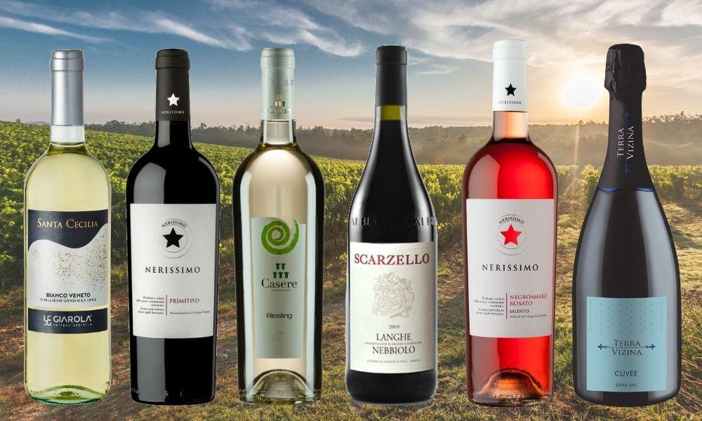 w Delikatesach Wino Vinci znajdziesz ofertę specjalnie wyselekcjonowanych włoskich win