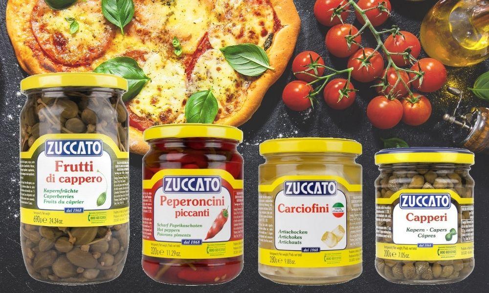 Zuccato to m.in. kapary, karczochy, papryczki w marynatach i oleju