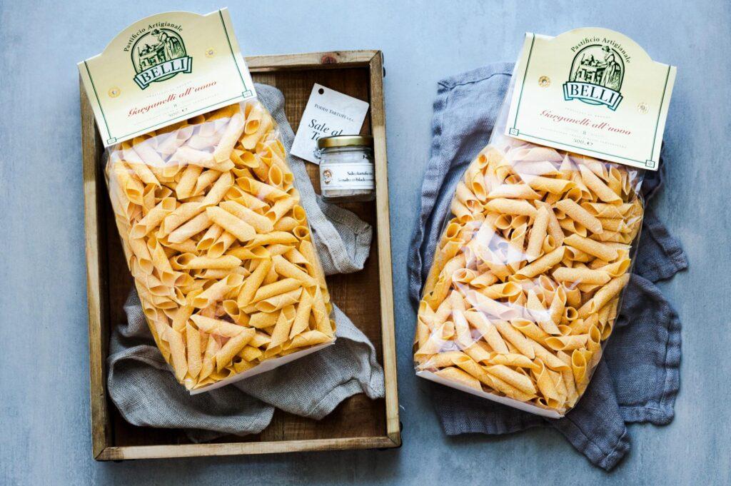 makarony Belli są produkowane w małej, rodzinnej manufakturze w Umbrii
