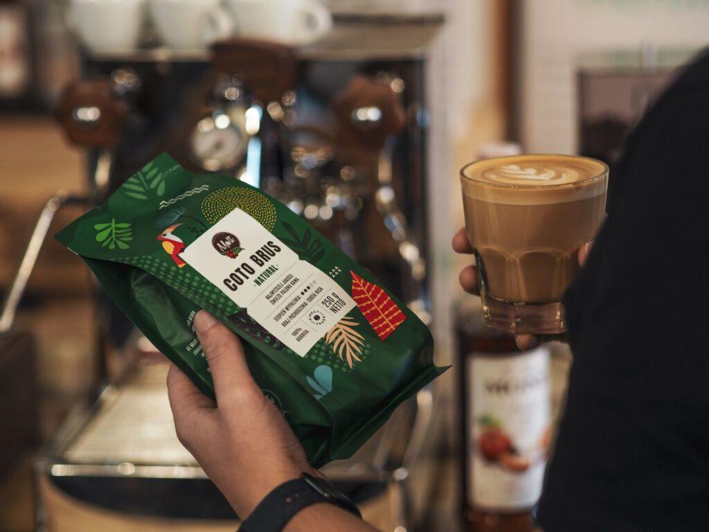 Kawa ziarnista Mott Coffee Coto Brus Natural