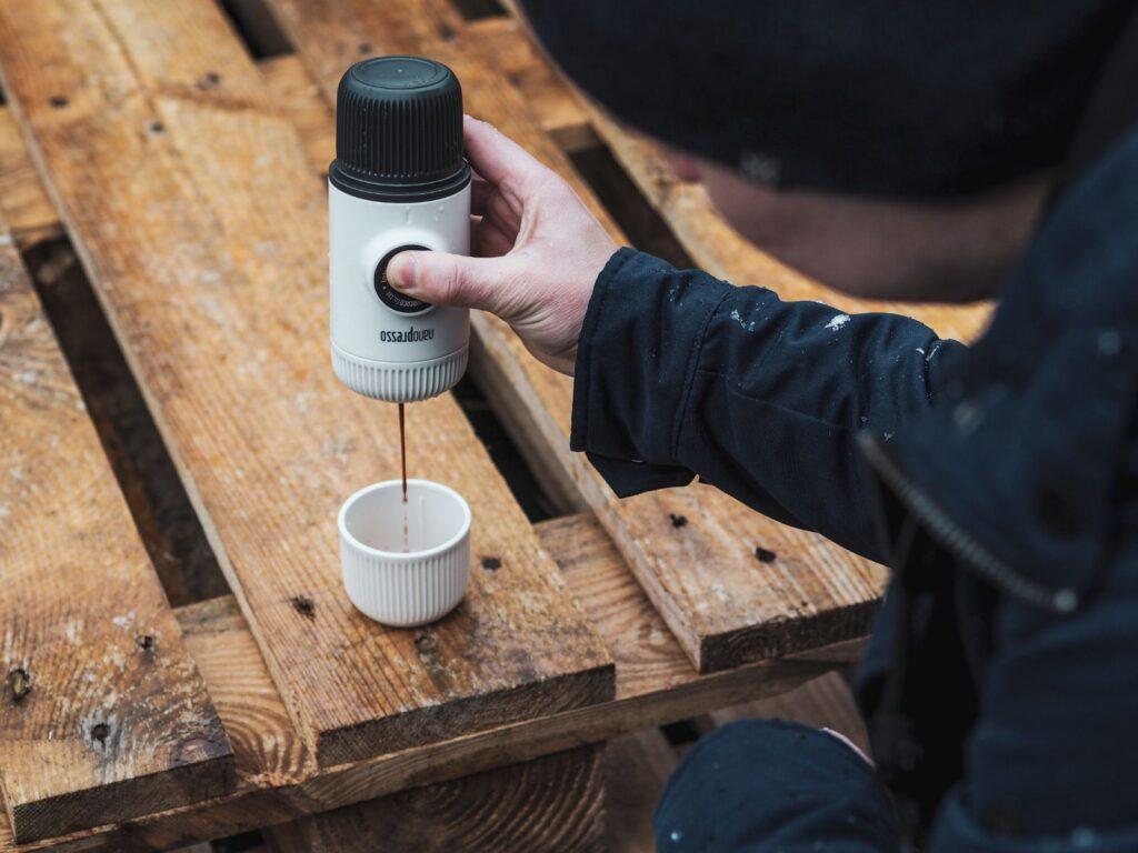 zaparzacz do kawy Nanopresso