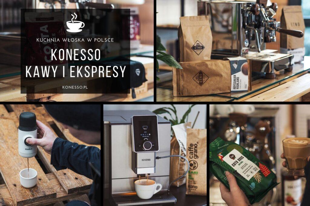Konesso.pl to sklep stworzony z myślą o miłośnikach dobrego smaku