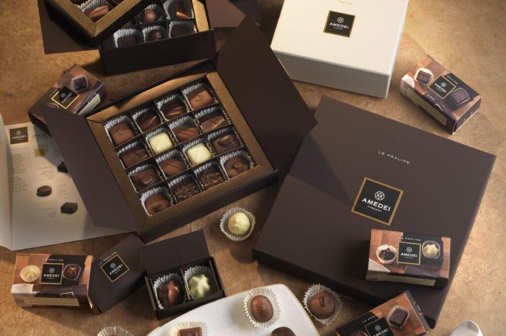 Praliny i czekolady Amedei - pomysł na wykwintny prezent prosto z Toskanii