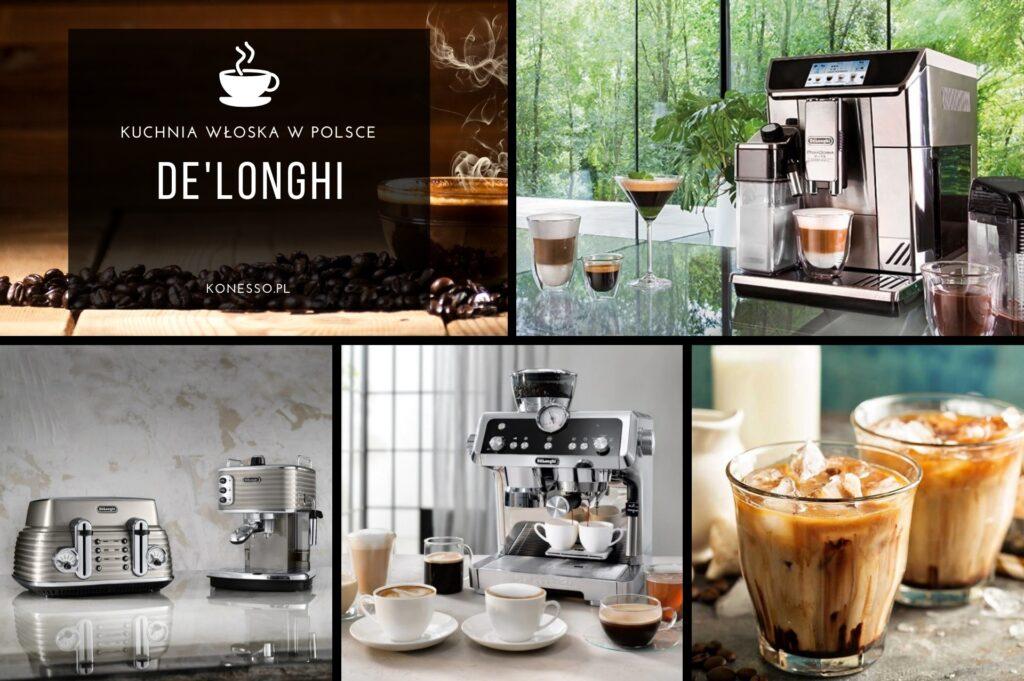 De'Longhi to najsłynniejsza włoska marka ekspresów i akcesoriów do kawy