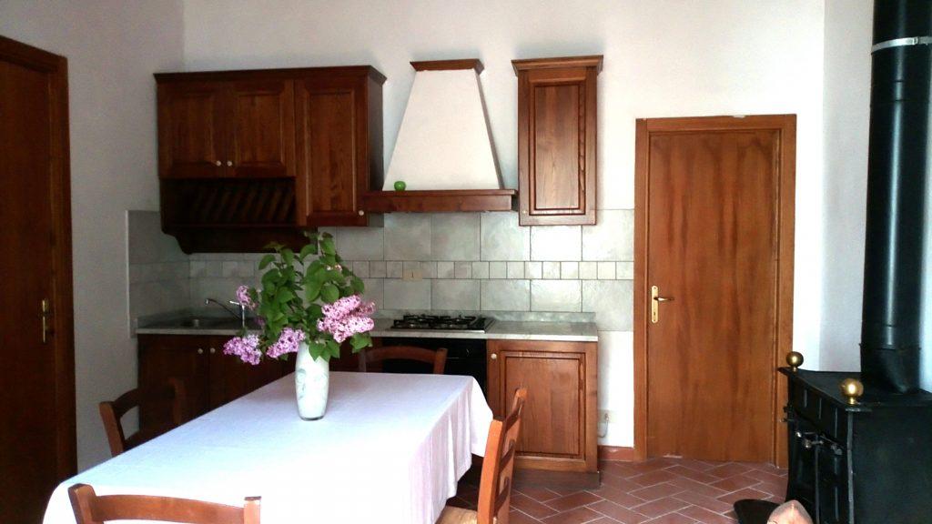 """La Pecora Verde"" leży na toskańskich wzgórzach, nieopodal San Gimignano"