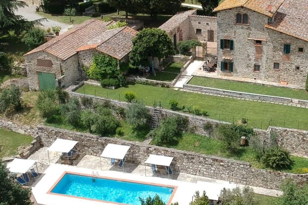 luksusowa willa Masseto in Chianti w Toskanii