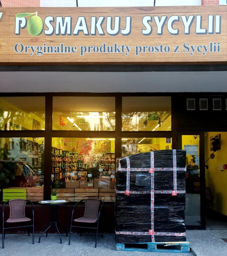 Dostawy bezpośrednio od producentów artigianale z Sycylii