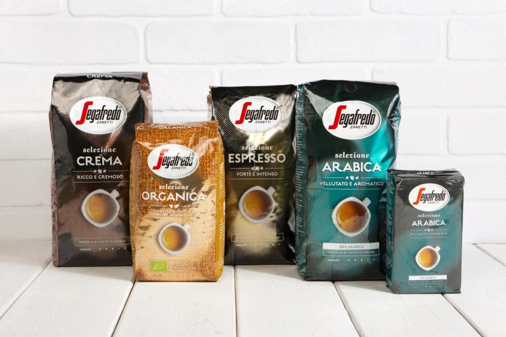Segafredo Zanetti - kawy Selezione