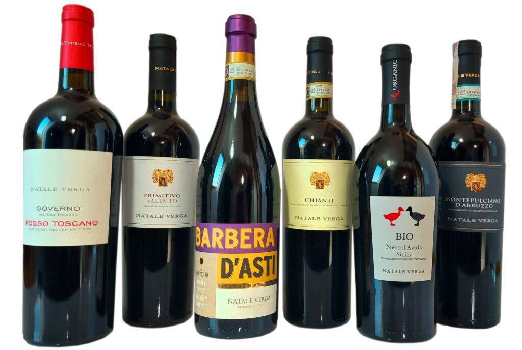 wina włoskie w ofercie Winnicy Adoria