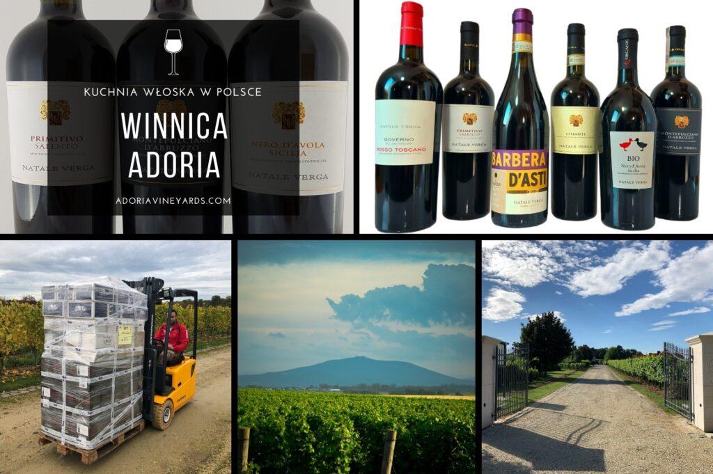 """Winnica Adoria została założona w 2001 r. i jest prowadzona przez jej właściciela, Mike'a Whitney i międzynarodową """"grupę wsparcia"""" – Polaków, Amerykanów i Włochów"""