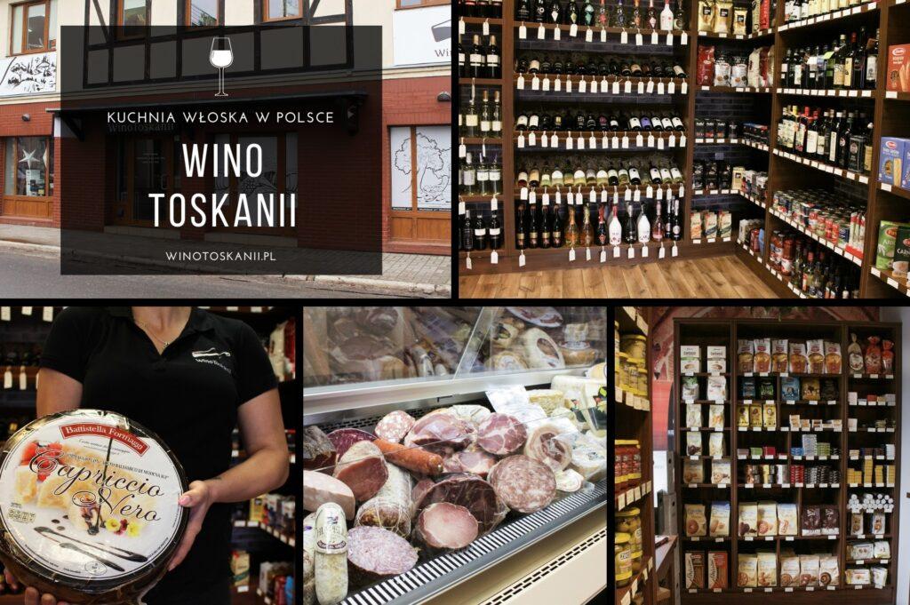 Wino Toskanii - najsłynniejsze włoskie sery i wędliny pochodzące od lokalnych producentów są chlubą naszych delikatesów