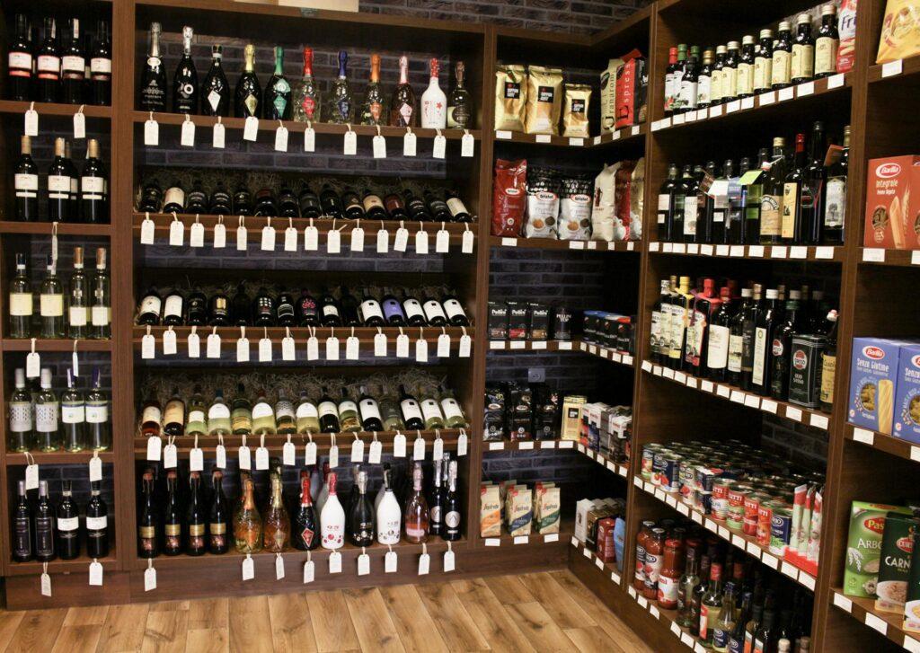 Wino Toskanii - kuchnia włoska w Polsce