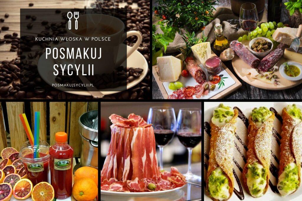 """Włoskie Delikatesy """"Posmakuj Sycylii"""" - sklep internetowy oraz sklep stacjonarny w Warszawie, kuchnia włoska w Polsce"""