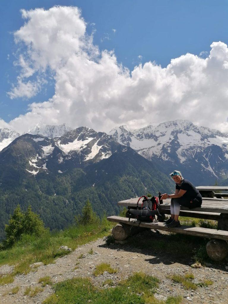 przy trasach jest mnóstwo miejsc piknikowych oferujących takie widoki
